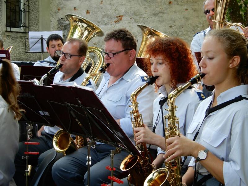 Gruppenfoto Saxophone