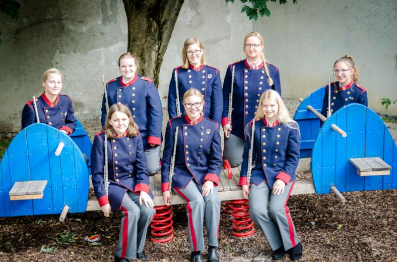 Gruppenfoto Flöten