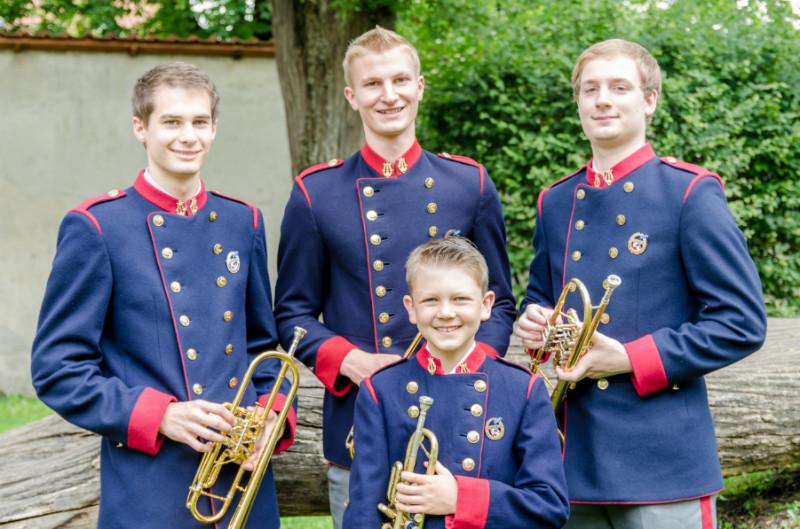 Gruppenfoto Trompeten