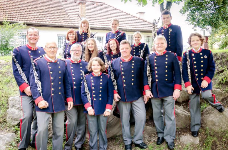 Gruppenfoto Klarinetten